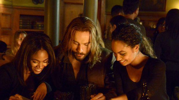 Wollen endlich mal einen Abend mit viel Spaß genießen: Abbie (Nicole Beharie,...