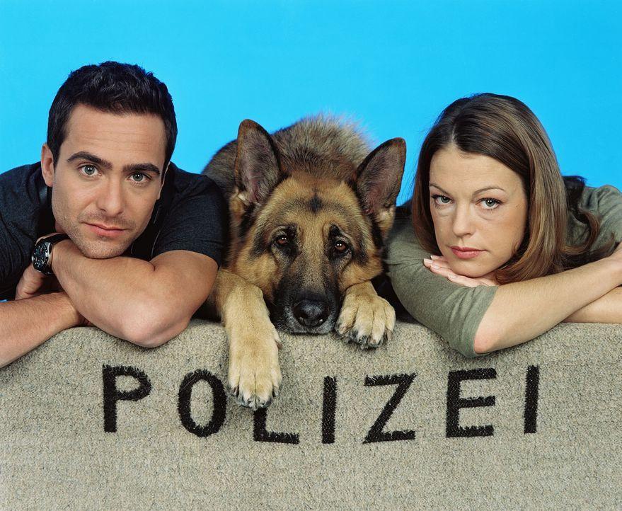 (8. Staffel) - Alexander Pschill, Rex und Elke Winkens - Bildquelle: Sat.1