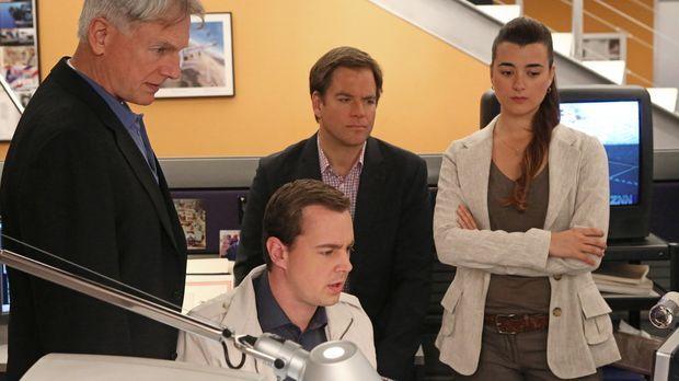 Ein neuer Fall beschäftigt Gibbs (Mark Harmon, l.), McGee (Sean Murray, 2.v.l...