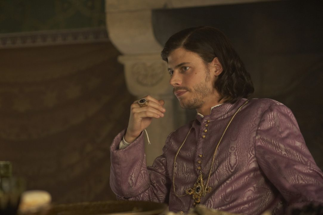 Wird Kardinal: Cesare (Francois Arnaud) ... - Bildquelle: LB Television Productions Limited/Borgias Productions Inc./Borg Films kft/ An Ireland/Canada/Hungary Co-Production. All Rights Reserved.