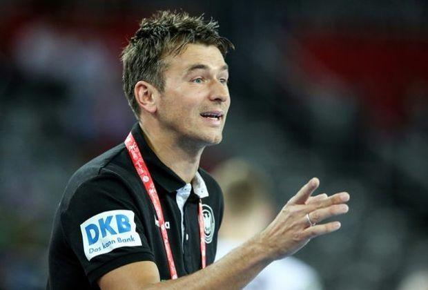 Vollzog fünf Änderungen: Bundestrainer Christian Prokop