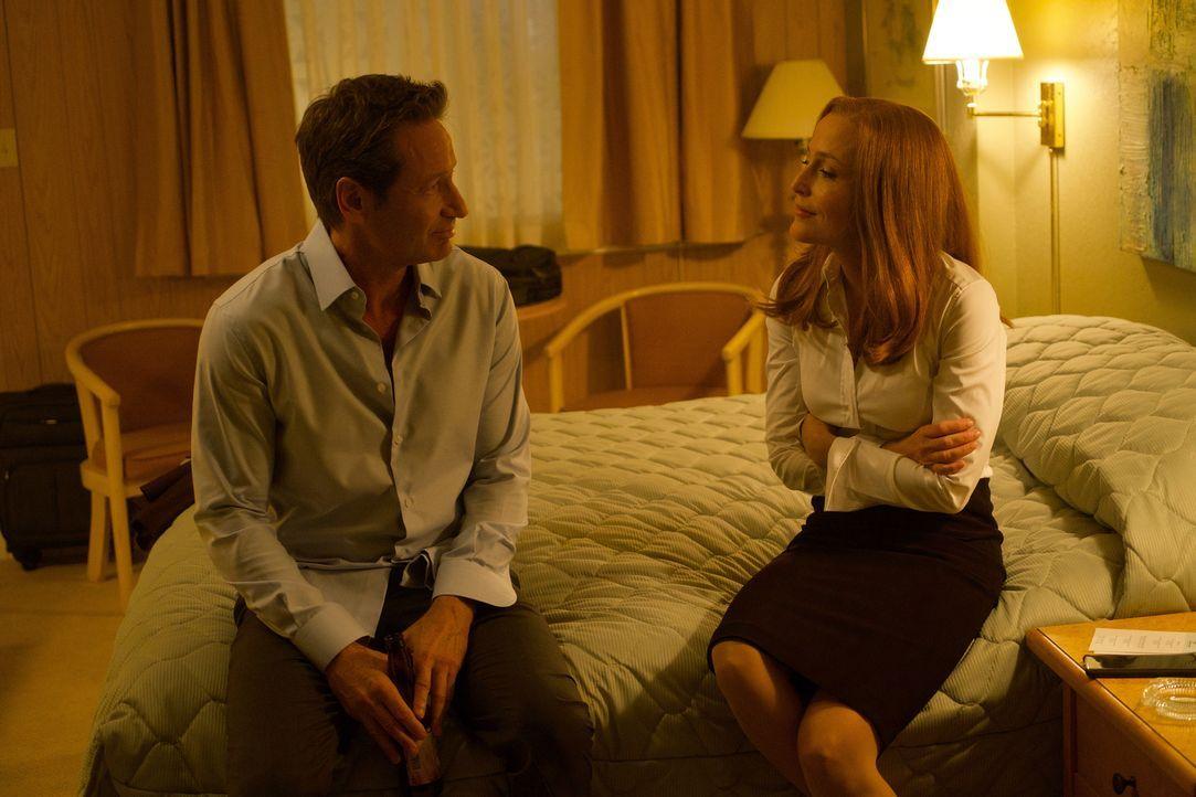 Werden sich Mulder (David Duchovny, l.) und Scully (Gillian Anderson, r.) darauf einigen können, was die angeblichen Selbstmorde von den unterschied... - Bildquelle: Shane Harvey 2017 Fox and its related entities.  All rights reserved.