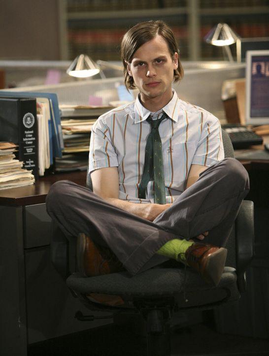 Mit einer speziellen Technik, kommt Reid (Matthew Gray Gubler) hinter den Grund der Tat von Brian Matloff ... - Bildquelle: Touchstone Television