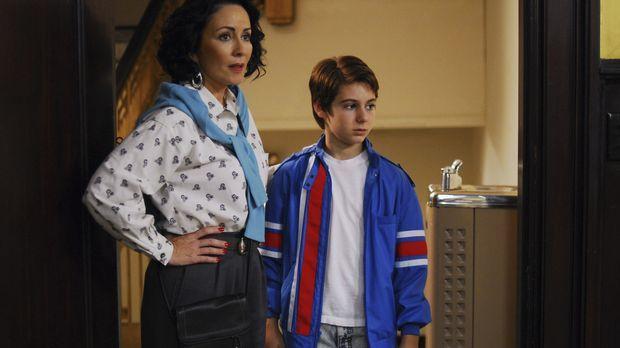 Brad Cohen (Dominic Scott Kay, r.) wächst mit seinem kleinen Bruder Jeff in e...