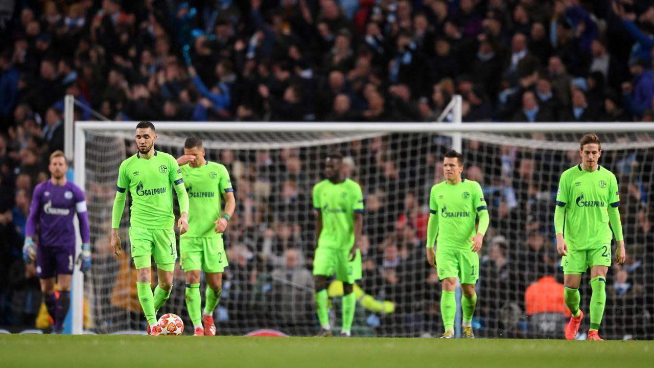 Champions League: Schalke 04 bei Manchester City in der Einzelkritik - Bildquelle: Getty