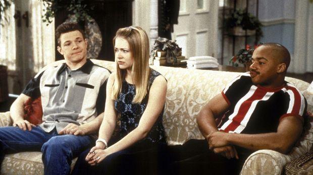 Sabrina (Melissa Joan Hart, M.) wird vor eine Entscheidung gestellt: Sie muss...