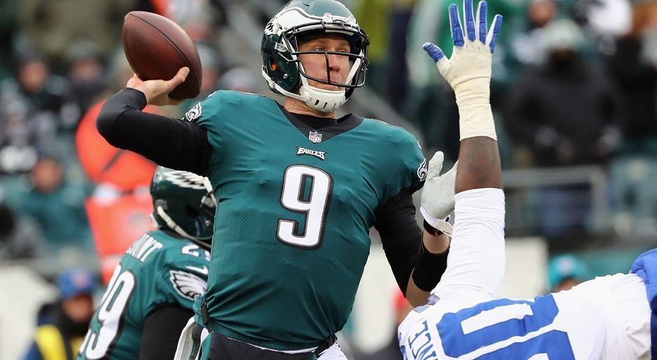 12. Nick Foles (Philadelphia Eagles) - Bildquelle: 2017 Getty Images