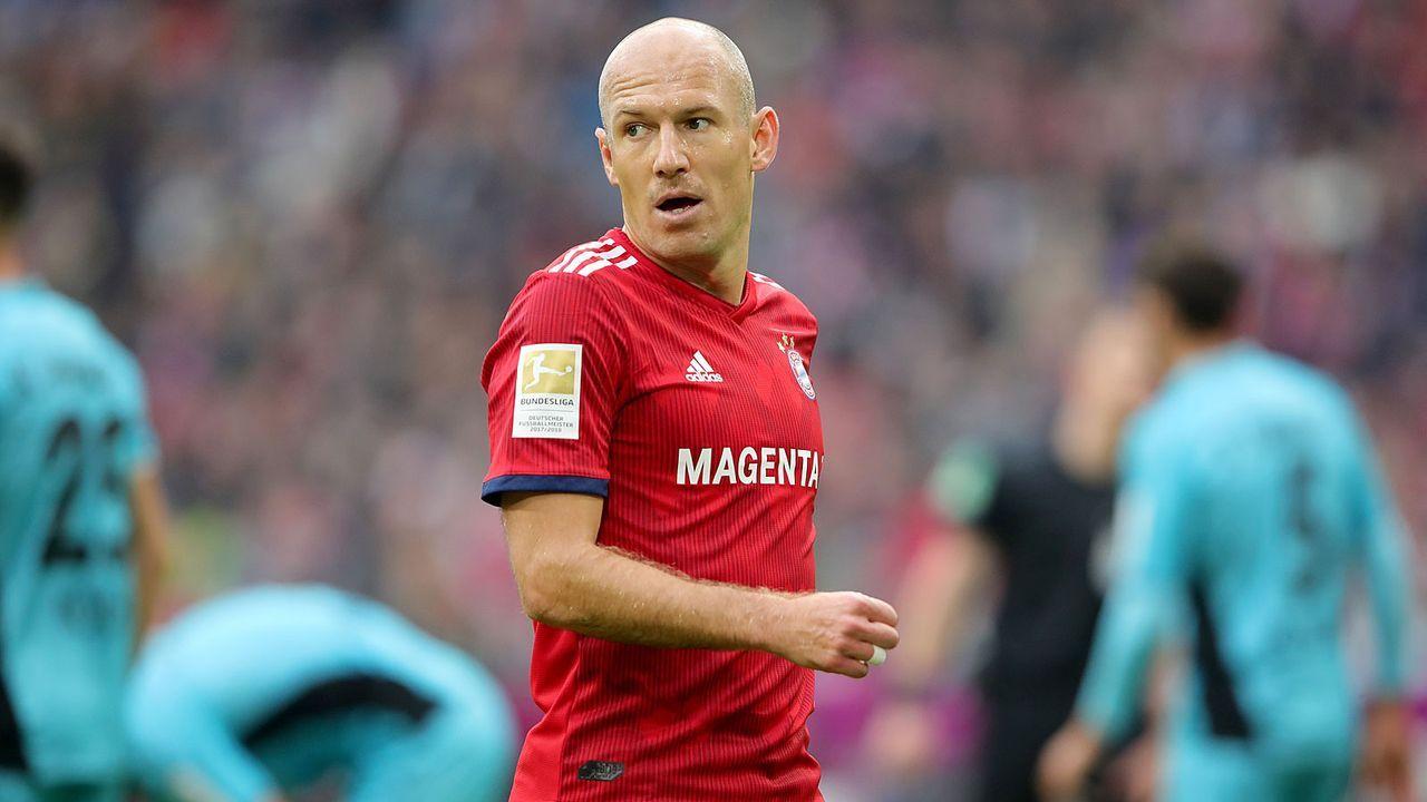 Arjen Robben (Bayern München) - Bildquelle: Getty Images