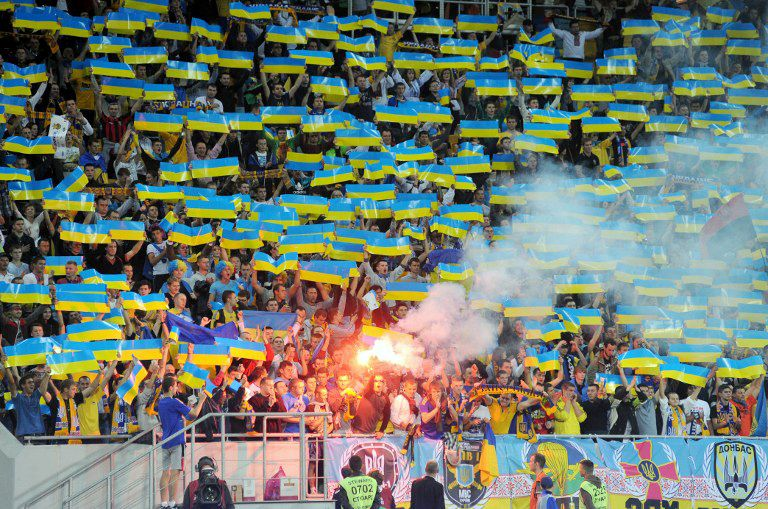 Ukraine_Fans-01-160429-AFP - Bildquelle: AFP