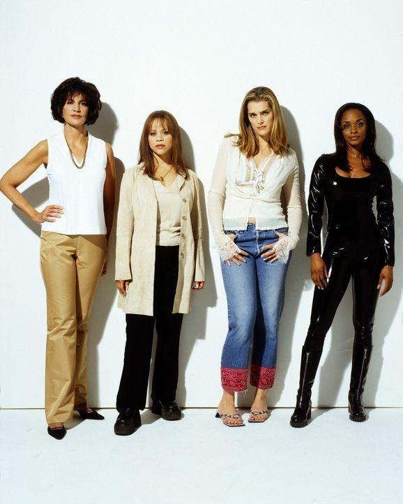 Machen sich auf, den Plan ihrer Männer zu vollenden: (v.l.n.r.) Dolly (Mercedes Ruehl), Linda (Rosie Perez), Shirley (Brooke Shields) und Bella (N'... - Bildquelle: ABC