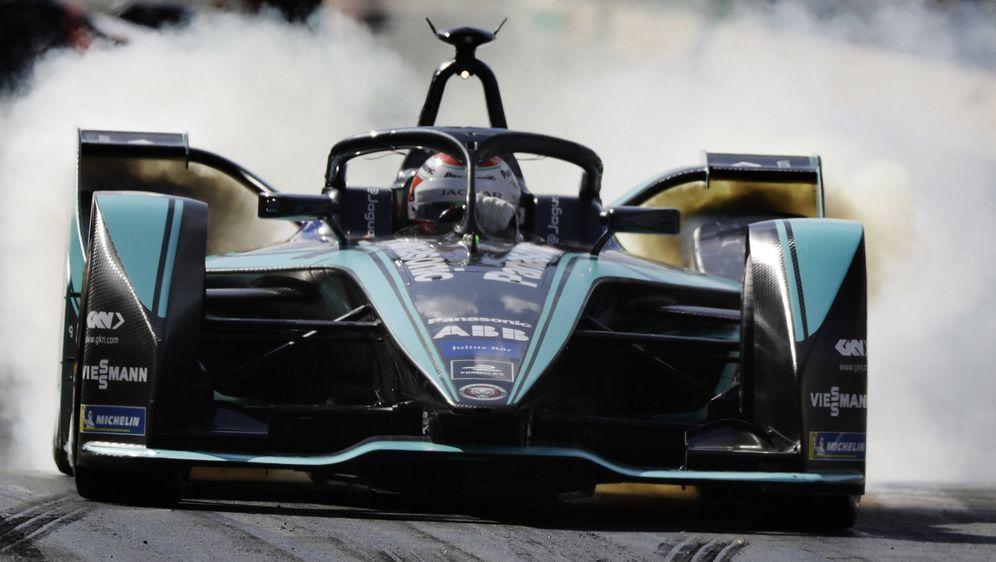 Viessmann: Sponsor des Jaguar-Teams in der Formel E. - Bildquelle: imago/Kr‰ling