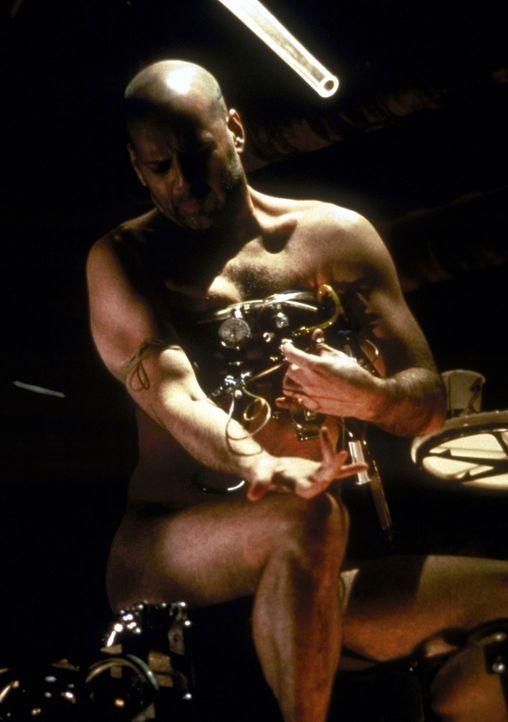 Wie Gott ihn schuf auf Erdenmission: James Cole (Bruce Willis) ...
