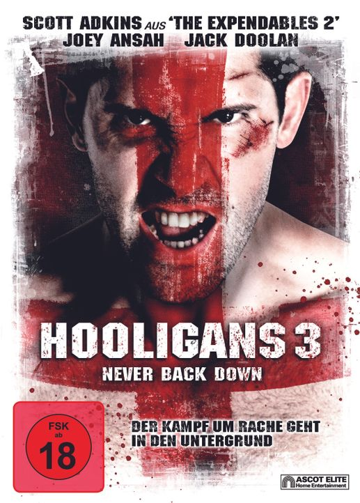HOOLIGANS 3 - NEVER BACK DOWN - Plakatmotiv - Bildquelle: 2013 ASCOT ELITE Home Entertainment GmbH. Alle Rechte vorbehalten.