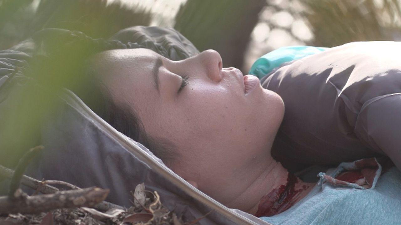 """Im März 2000 findet ein Autofahrer an einem verlassenen Highway die Leiche der 28-jährigen Genevieve """"Ginny"""" Tepton ... - Bildquelle: LMNO Cable Group"""