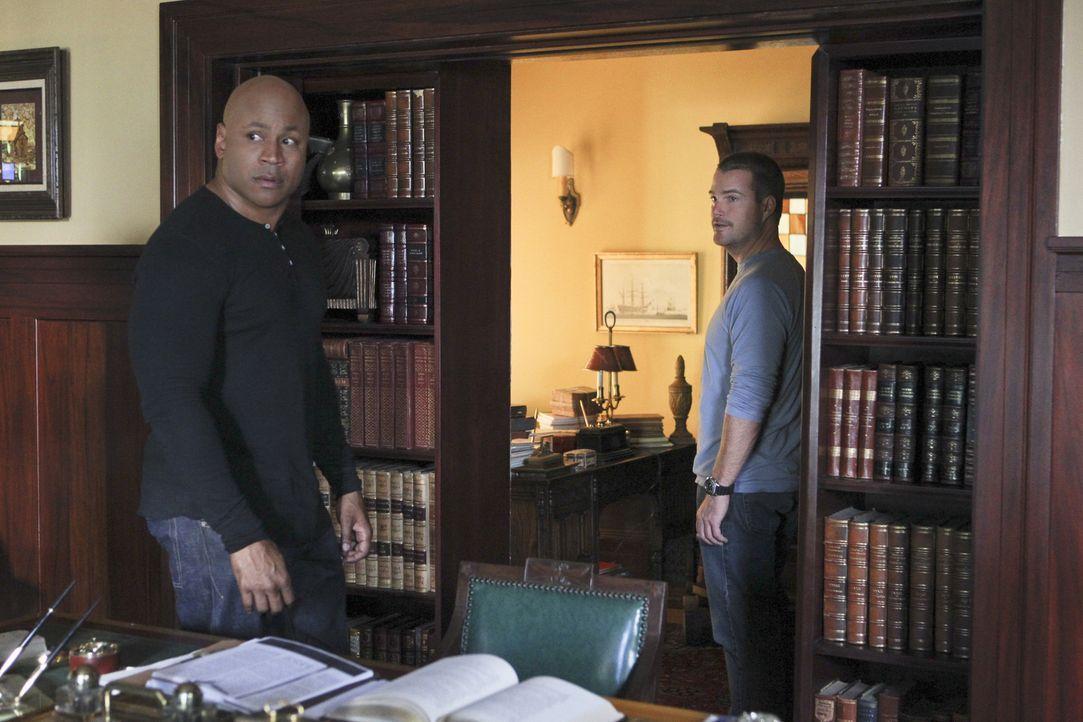 Müssen einen neuen Fall lösen: Callen (Chris O'Donnell, r.)  und Sam (LL Cool J, l.) ... - Bildquelle: CBS Studios Inc. All Rights Reserved.