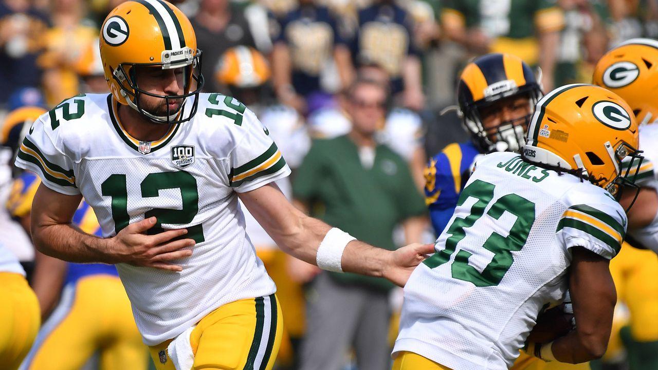 Green Bay Packers und Aaron Rodgers (Verlierer) - Bildquelle: imago/ZUMA Press