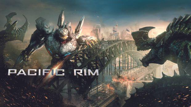 Pacific Rim - Plakat © 2013 Warner Bros. Entertainment Inc. and Legendary Pic...