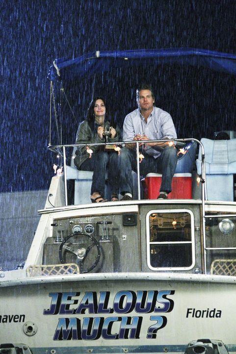Haben sie noch eine Chance? Jules (Courteney Cox, l.) und Bobby (Brian Van Holt, r.) ... - Bildquelle: 2009 ABC INC.