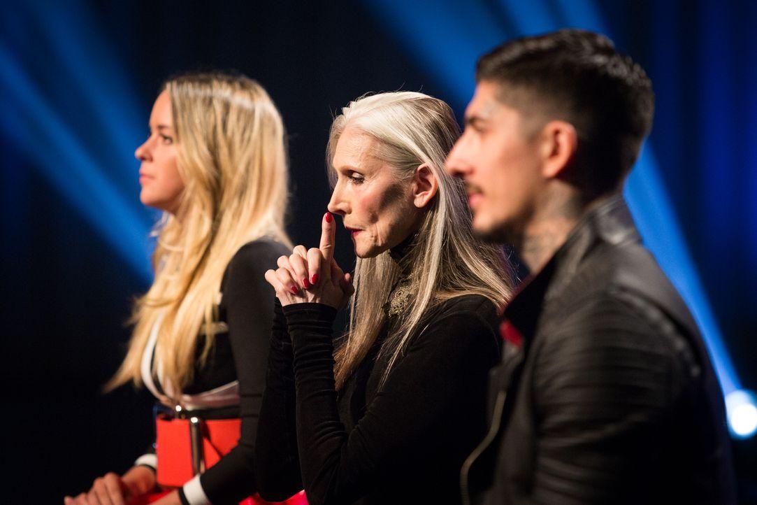 ANTM-Jury. Daniel Bamdad, Eveline Hall und Marina Hoermanseder_c_Bernhard Eder x - Bildquelle: Bernhard Eder