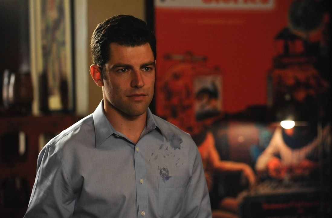 Schmidt (Max Greenfield) fährt zweigleisig. Ob das lange gutgehen wird? - Bildquelle: TM &   2013 Fox and its related entities. All rights reserved.