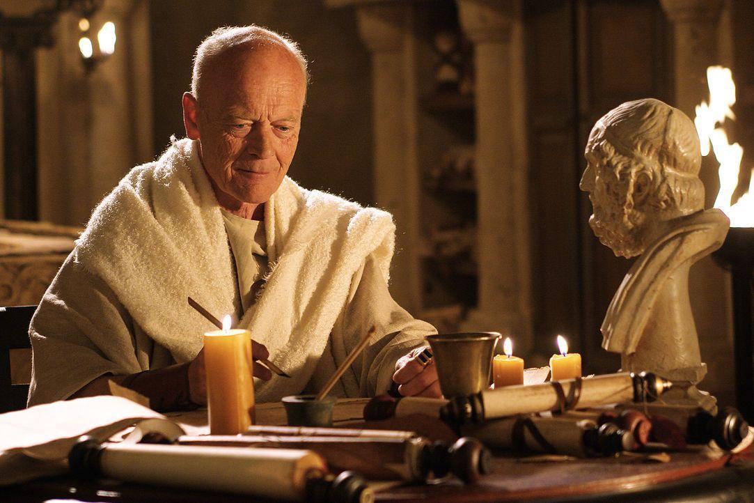 """Cicero (Michael Byrne) war zwar an der Ermordung Caesars nicht beteiligt, war über den Tod des """"Tyrannen"""" nicht unglücklich. Als ihm jedoch deutli... - Bildquelle: Hallmark Entertainment"""