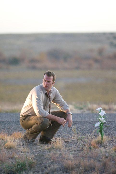 Seine Fahrt in die Flitterwochen endet in einem mörderischen Desaster: Dick (Thomas Jane) ... - Bildquelle: Sony 2010 CPT Holdings, Inc.  All Rights Reserved.