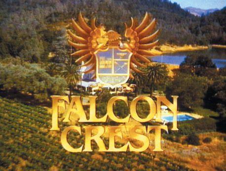 Falcon Crest - (6. Staffel) - Falcon Crest - Logo - Bildquelle: 1986   Warner...