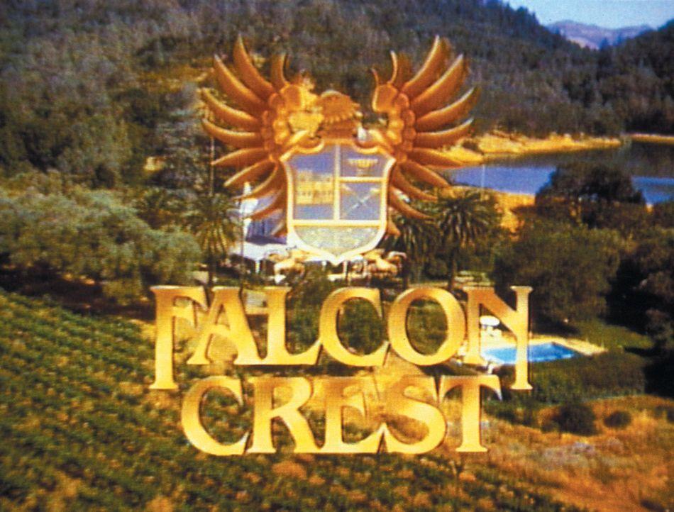(6. Staffel) - Falcon Crest - Logo - Bildquelle: 1986   Warner Brothers