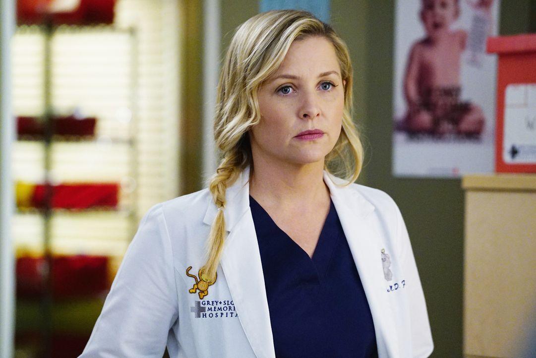 Kann nicht verstehen, dass Dr. Herman eiskalt ablehnt, als Bailey sie in einem wichtigen Fall um Hilfe bittet: Arizona (Jessica Capshaw) ... - Bildquelle: ABC Studios