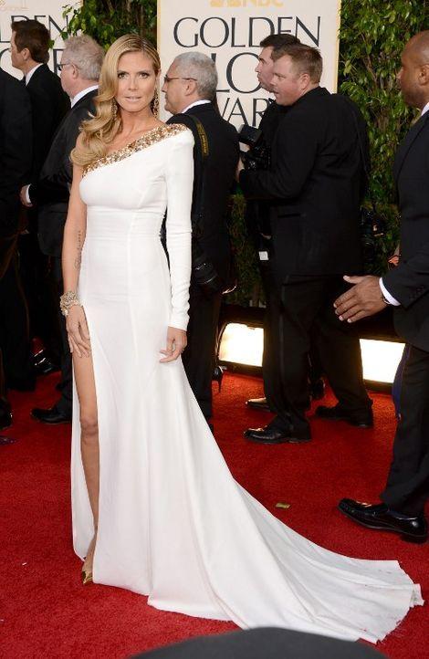 Golden Globes: Das Kleid von Heidi Klum - Bildquelle: AFP