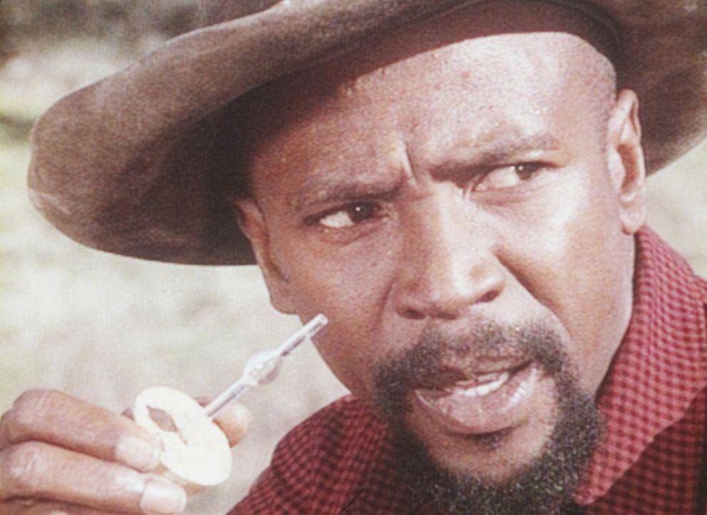 Henry Hill (Louis Gossett jr.) ist in Sorge um den Zustand des Sprengöls. - Bildquelle: Worldvision