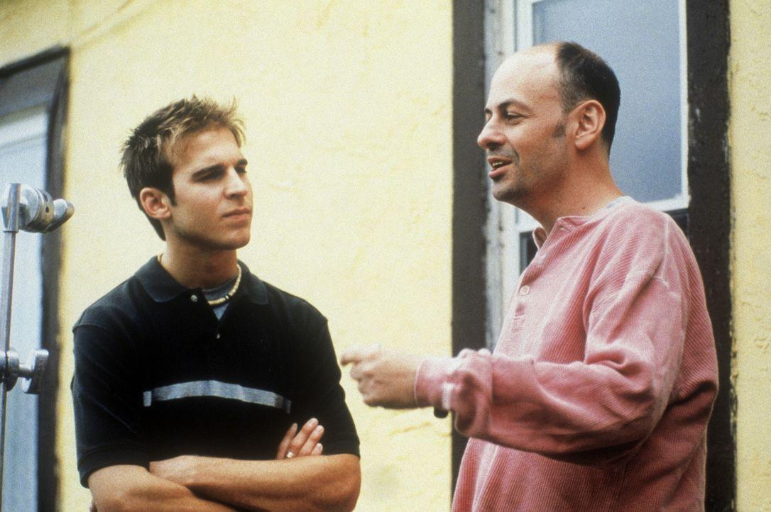 Regisseur Todd Graff, r. und sein Hauptdarsteller Daniel Letterle, l.