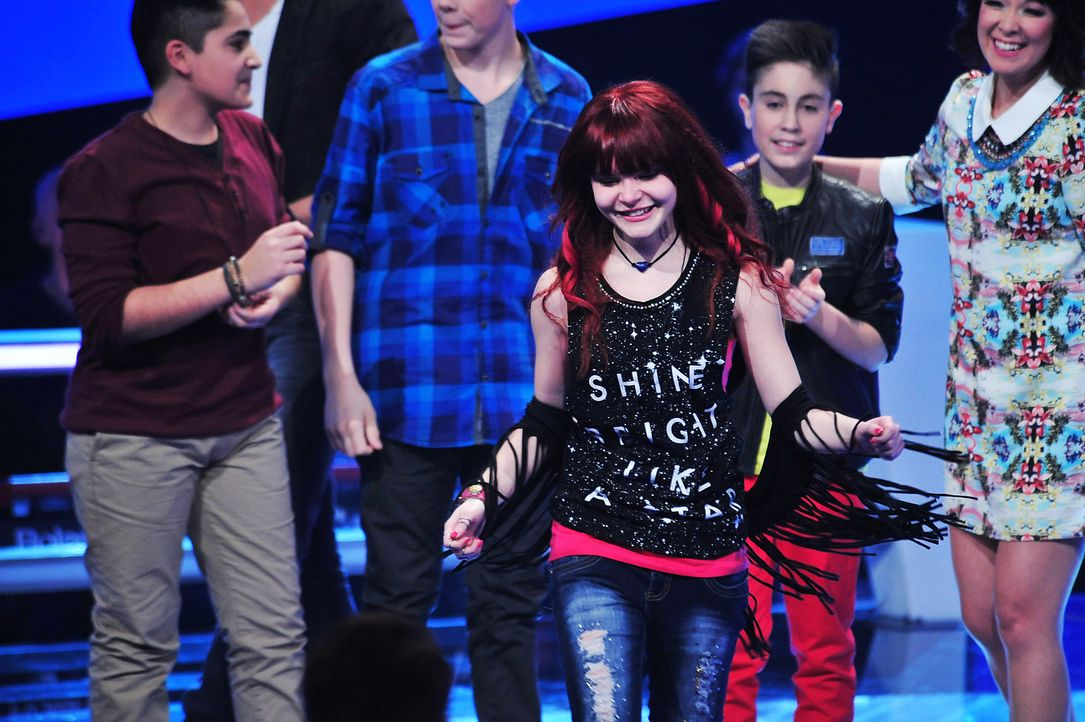 The-Voice-Kids-Stf02-Epi07-Carlotta-12-SAT1-Andre-Kowalski - Bildquelle: SAT.1/Andre Kowalski