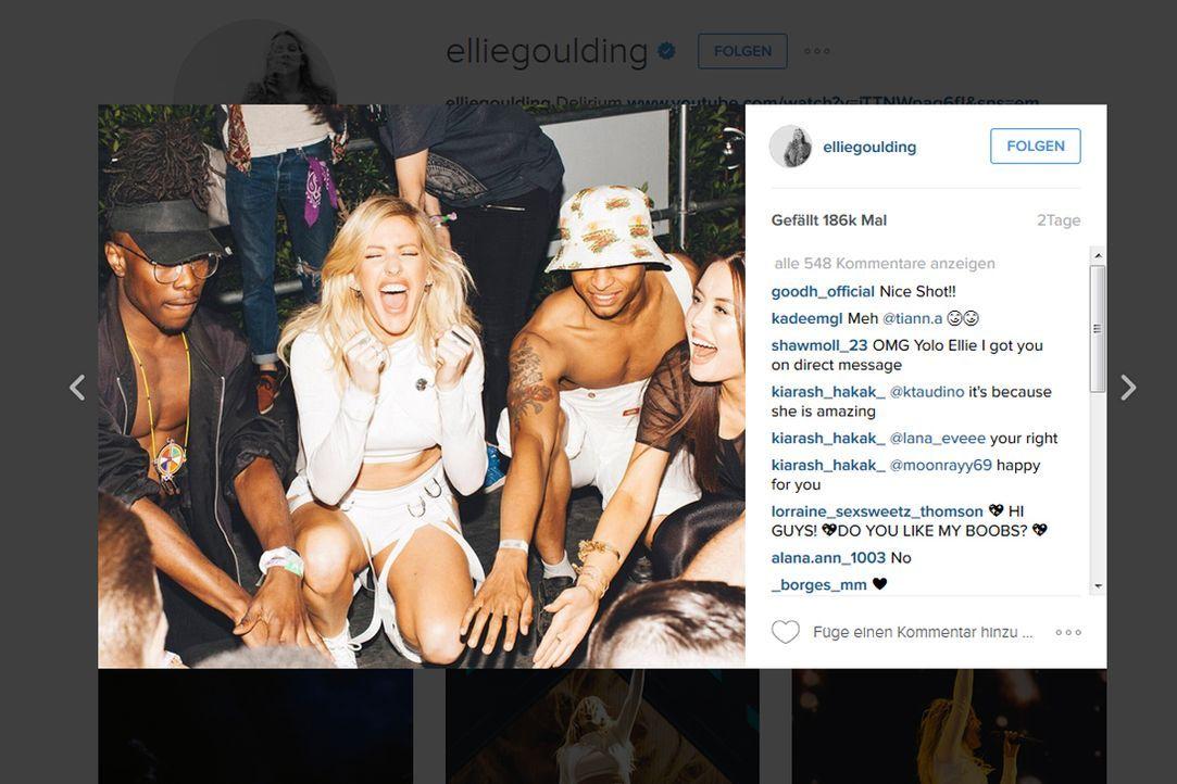 ellie-goulding-insta - Bildquelle: www.instagram.com/elliegoulding
