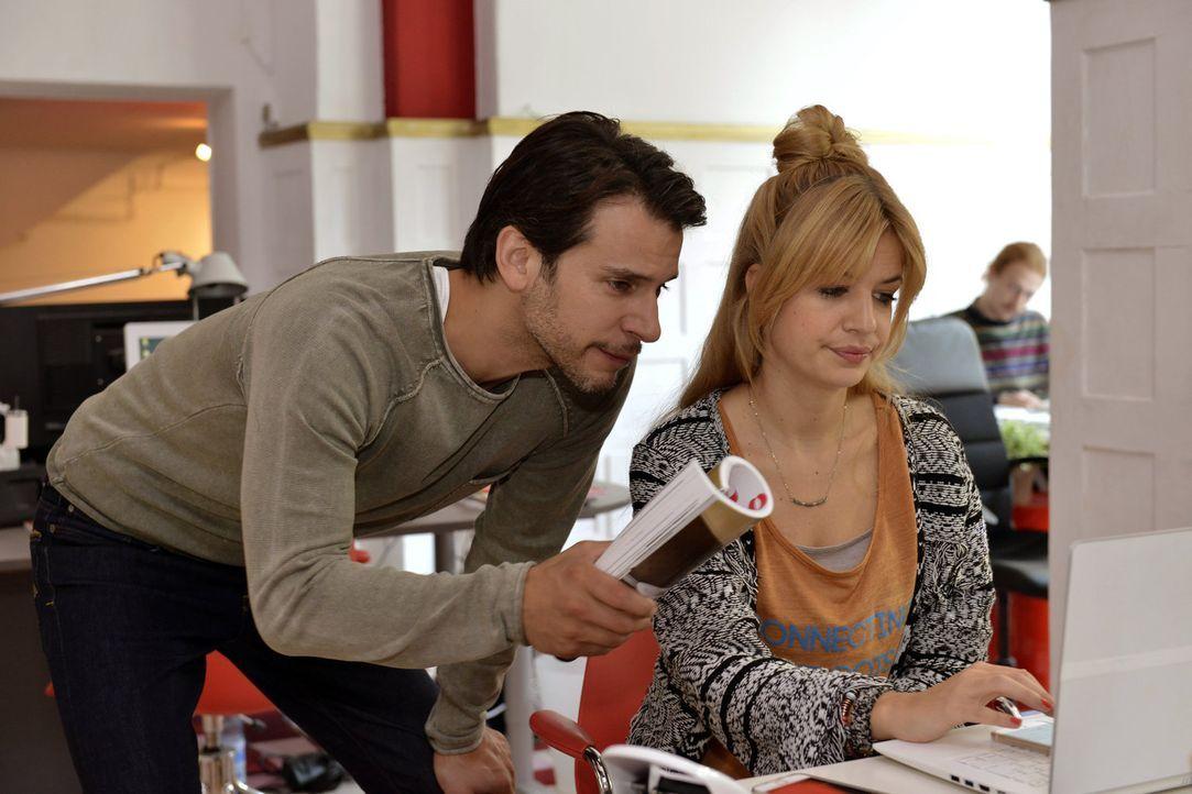 Um Sally und Richard zu verkuppeln, wird Mila (Susan Sideropoulos, r.) mit der Hilfe von Nick (Florian Odendahl, l.) zum Matchmaker ... - Bildquelle: Oliver Ziebe sixx
