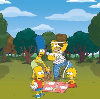 Die Simpsons - (24. Staffel) - Die Simpsons sind eine nicht alltägliche Famil...