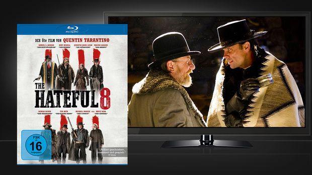 The Hateful 8 - Blu-ray und Szene © Universum Film