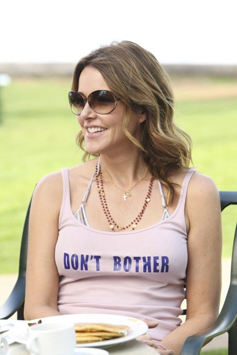 Will nicht gestört werden: Ellie (Christa Miller) ... - Bildquelle: 2010 ABC INC.