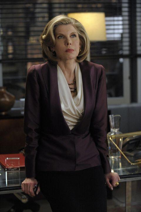 Diane (Christine Baranski) erfährt von Will, dass dieser eine sechsmonatige Suspendierung in Kauf nehmen muss ... - Bildquelle: 2011 CBS Broadcasting Inc. All Rights Reserved.
