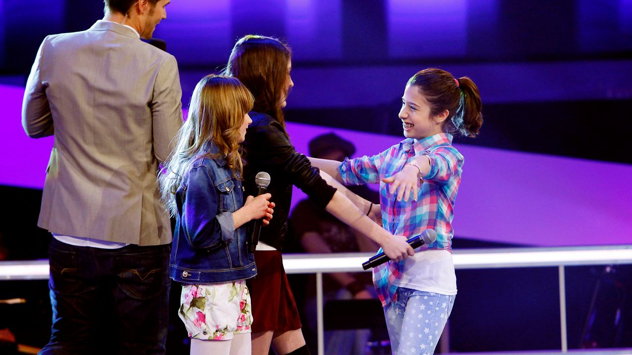 The-Voice-Kids-epi05-JulikaMicheleMarie-5-SAT1-Richard-Huebner - Bildquelle: SAT.1/Richard Hübner