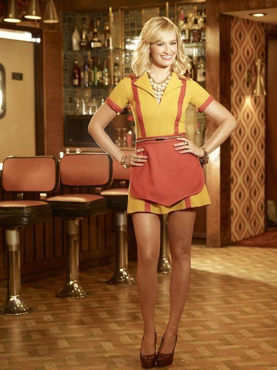 (4. Staffel) - Als smarte Geschäftsfrau will Caroline (Beth Behrs) das Cupcake-Geschäft noch weitere Erfolge einfährt. Leichter gesagt, als getan ..... - Bildquelle: Warner Bros. Television