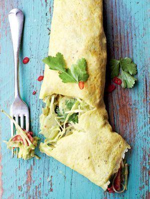 Jamies Cook Clever: Gefülltes mexikanisches Omelett Rezeptbild