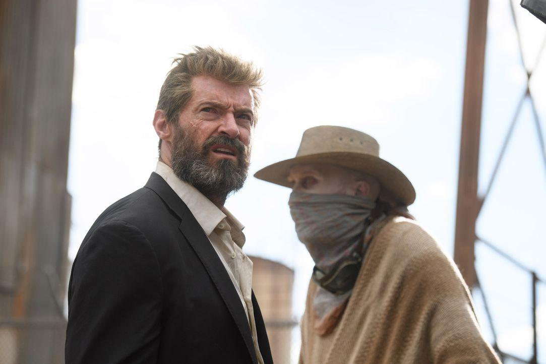 (v.l.n.r.) Logan (Hugh Jackman); Caliban (Stephen Merchant) - Bildquelle: Ben Rothstein 2017 Marvel. TM and   2017 Twentieth Century Fox Film Corporation. All rights reserved./Ben Rothstein