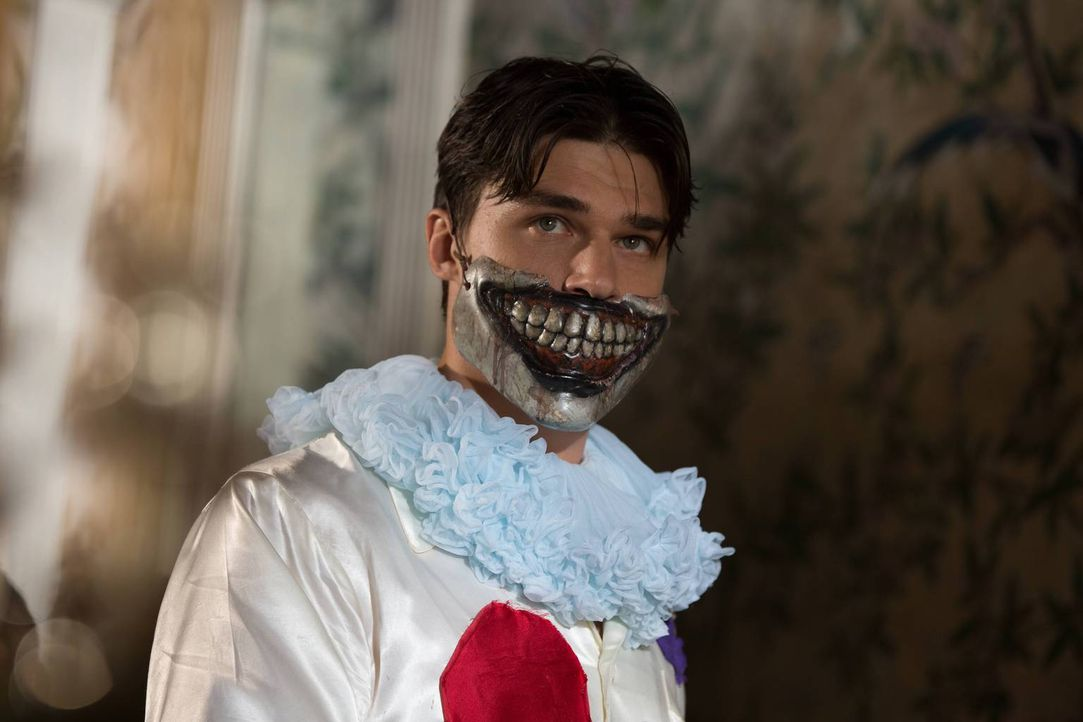 Lässt sich von dem mordenden Clown inspirieren: Dandy (Finn Wittrock) ... - Bildquelle: 2014-2015 Fox and its related entities. All rights reserved.