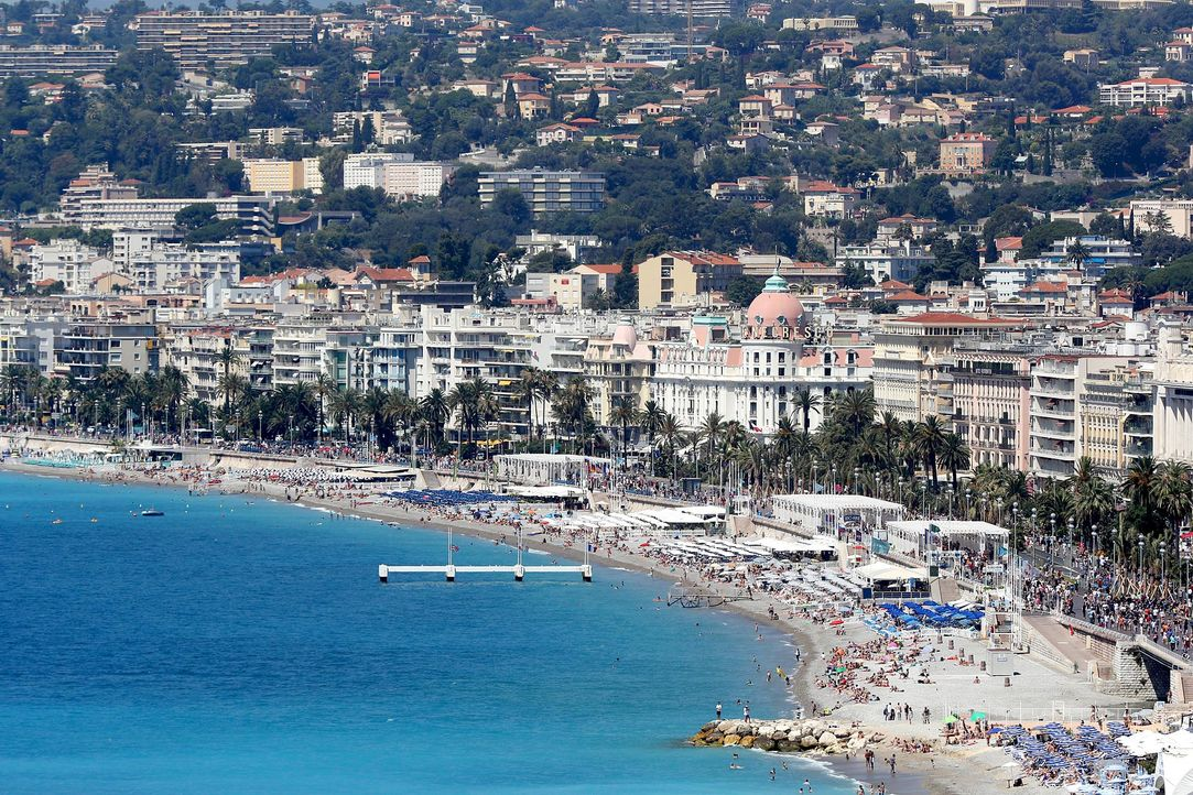 Nizza-Strandpromenade-2-AFP - Bildquelle: AFP Photo