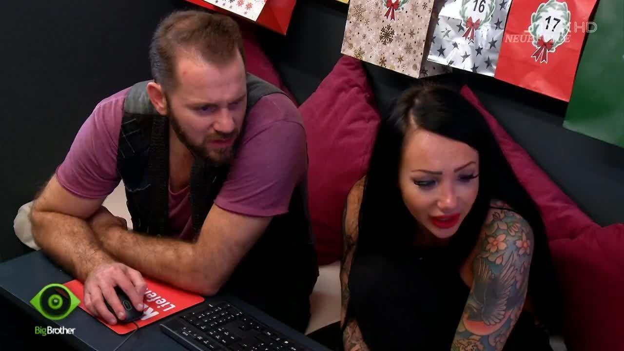 Lusy und Thomas machen den Einkauf - Bildquelle: sixx