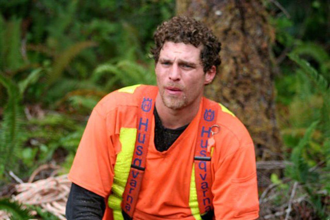 British Columbia - im Westen Kanadas: Hier ist Wayne Cleaver Mitglied eines Heli-Logger-Teams. - Bildquelle: Patrick Cummings kabel eins
