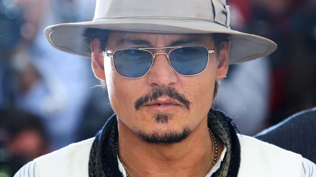 Johnny Depp - Bildquelle: Getty-AFP