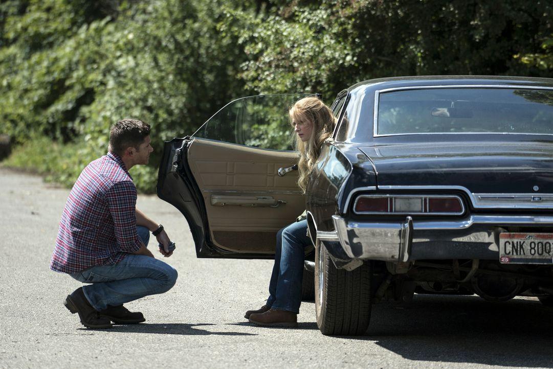 Dean (Jensen Ackles, l.); Mary (Samantha Smith, r.) - Bildquelle: Katie Yu 2016 The CW Network, LLC. All Rights Reserved/ Katie Yu