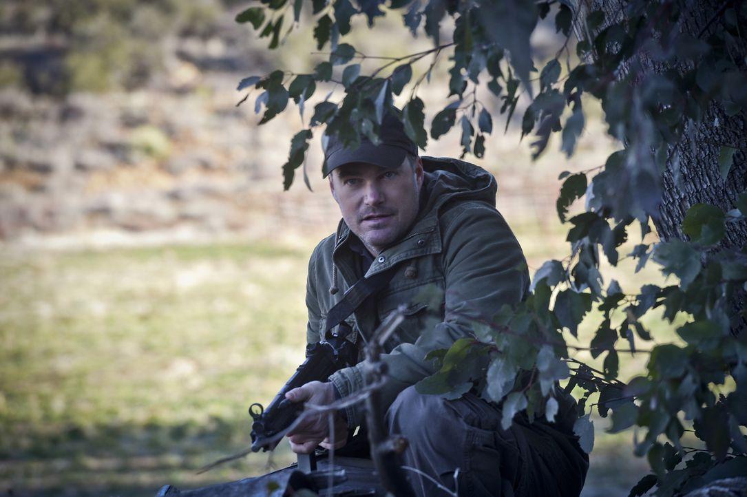 auf einer besonderen Mission in Afrika unterwegs: Callen (Chris O'Donnell) ... - Bildquelle: Ron Jaffe 2016 CBS Broadcasting, Inc. All Rights Reserved.